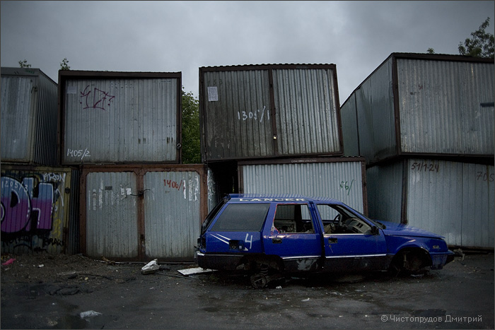 Russian abandoned cars 33