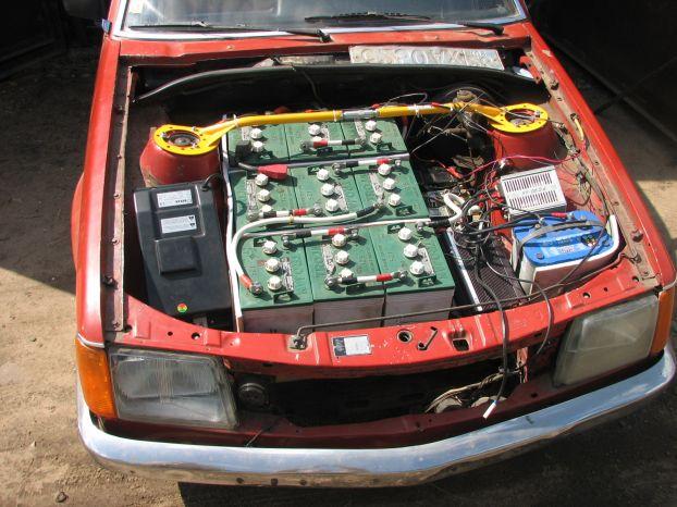 Russian Electric Car 1