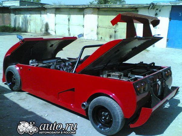 the unique sports car Lada RACER 3