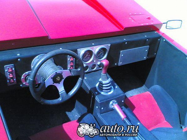 the unique sports car Lada RACER 4