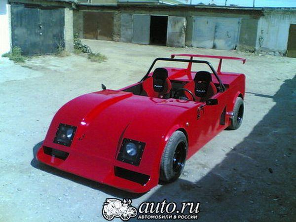 the unique sports car Lada RACER 6