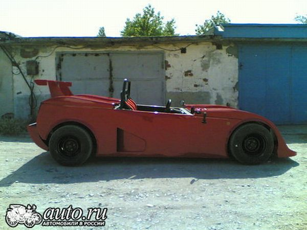 the unique sports car Lada RACER 7