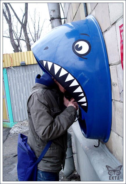 Shark Phone Booth 1