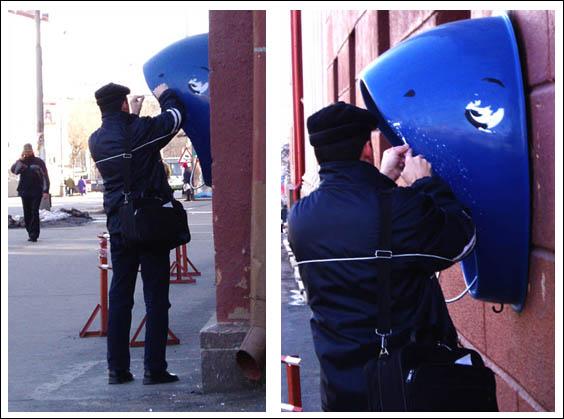 Shark Phone Booth 3