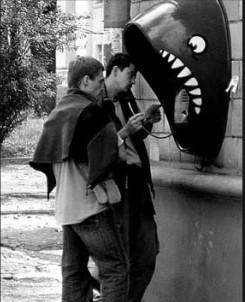 Shark Phone Booth 6