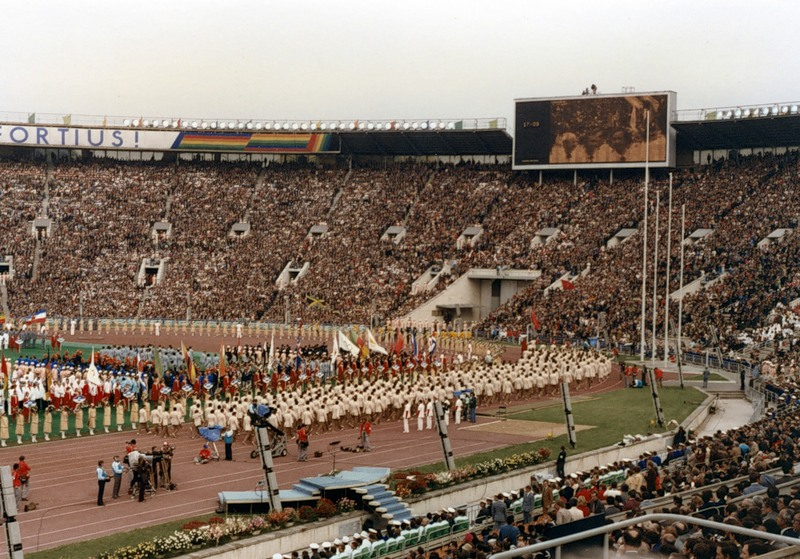 Shelter For Heroes - Olympic Games 1980 1