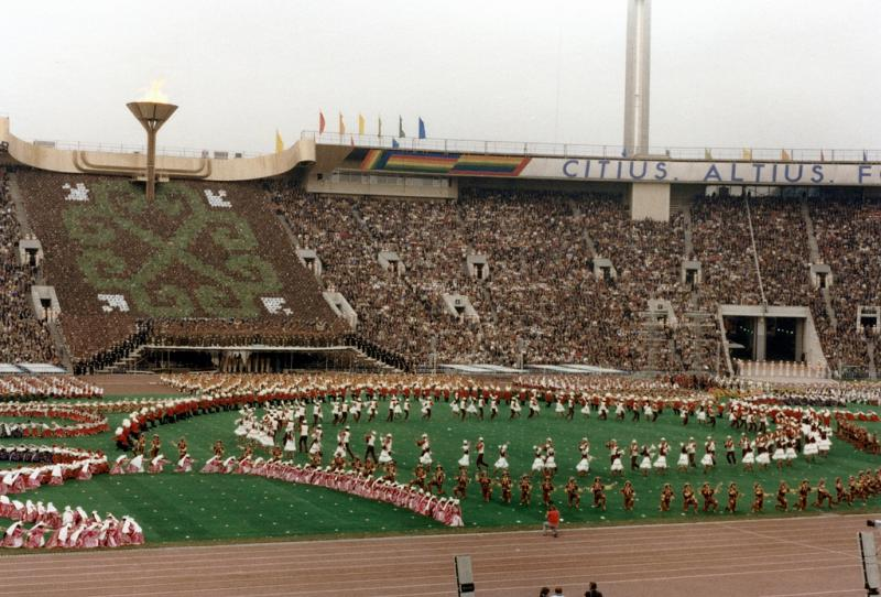 Shelter For Heroes - Olympic Games 1980 20