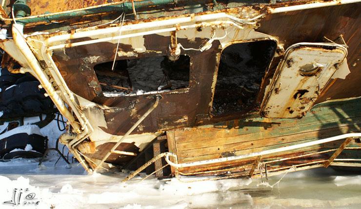 abandoned ships in  kamchatka, Russia 10