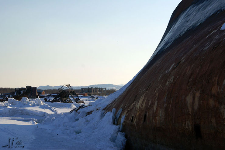 abandoned ships in  kamchatka, Russia 12