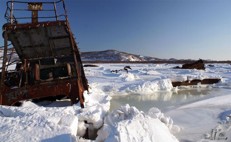 abandoned ships in  kamchatka, Russia 14