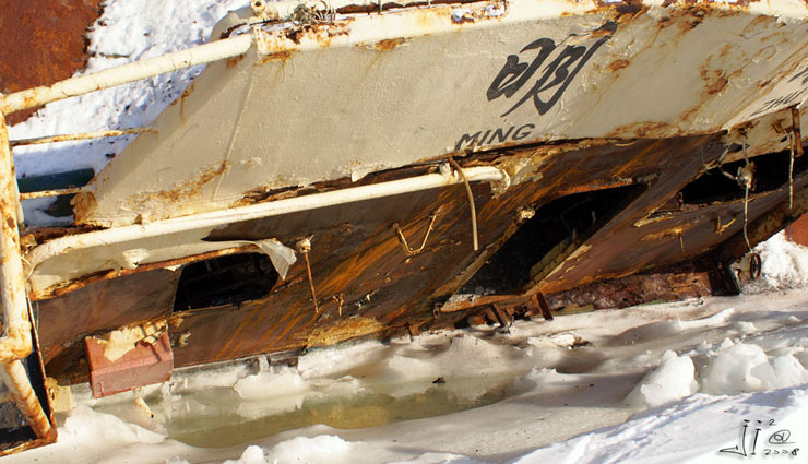 abandoned ships in  kamchatka, Russia 6