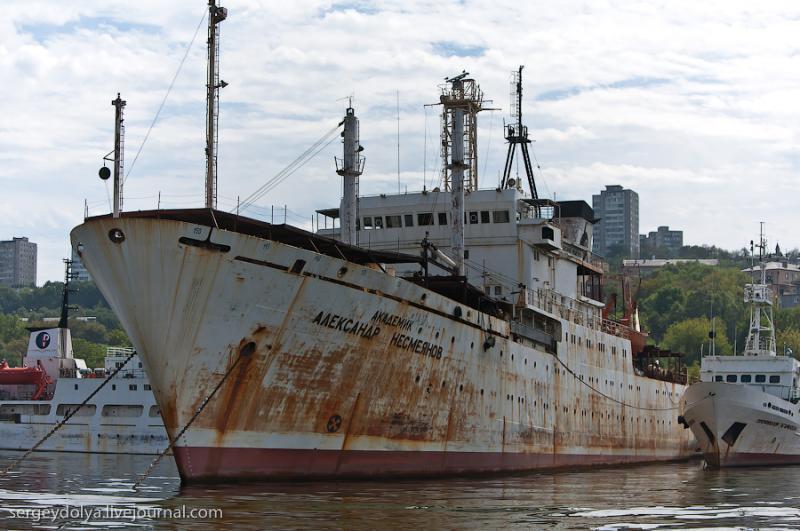 Ships of Vladivostok 18