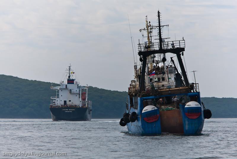 Ships of Vladivostok 5