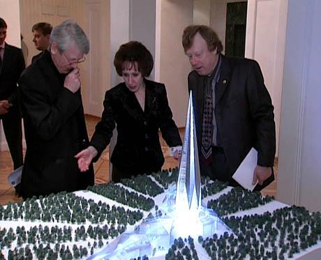 Russian Crystal Scyscraper in Siberia 2