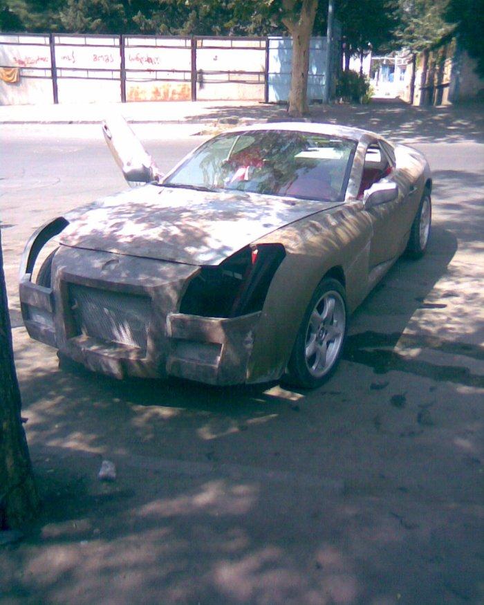 Russian self-made car 4