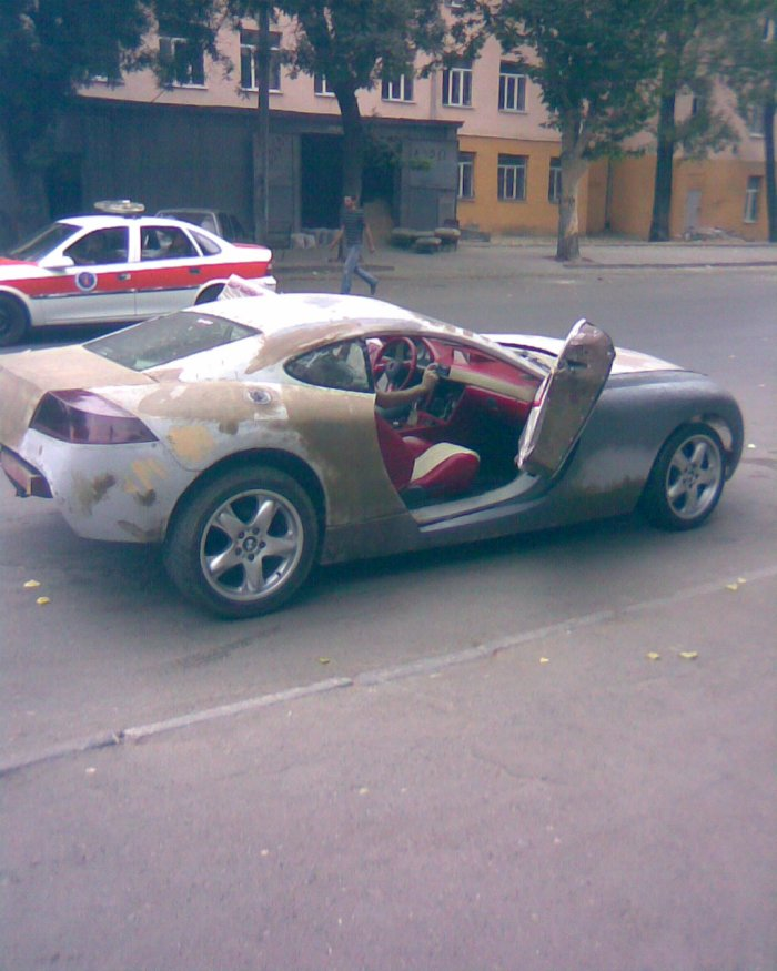 Russian self-made car 5