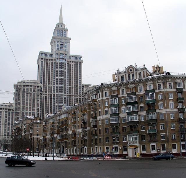 Skyscrapers of Moscow 16