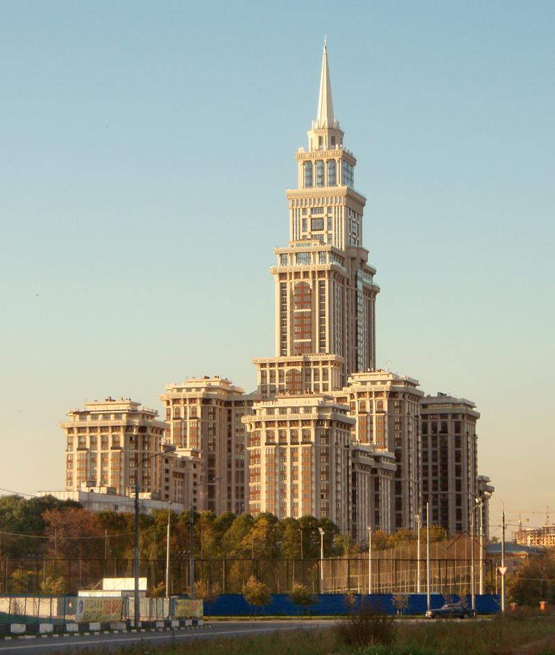 Skyscrapers of Moscow 17