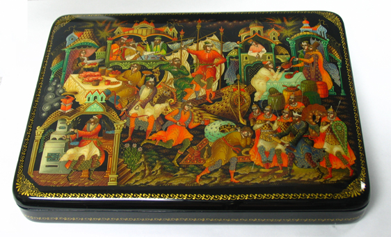 Russian lacquer boxes 1