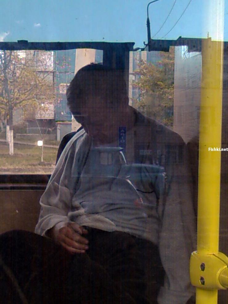 Russian driver sleeps in bus 11