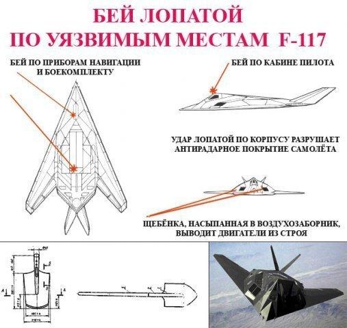 Как сбить F-117?