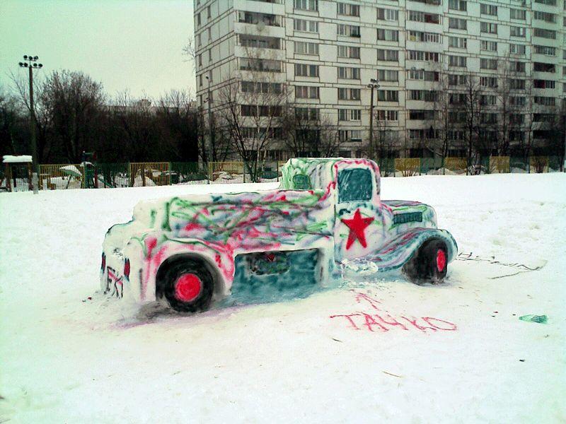 Snow Car in Russia 2