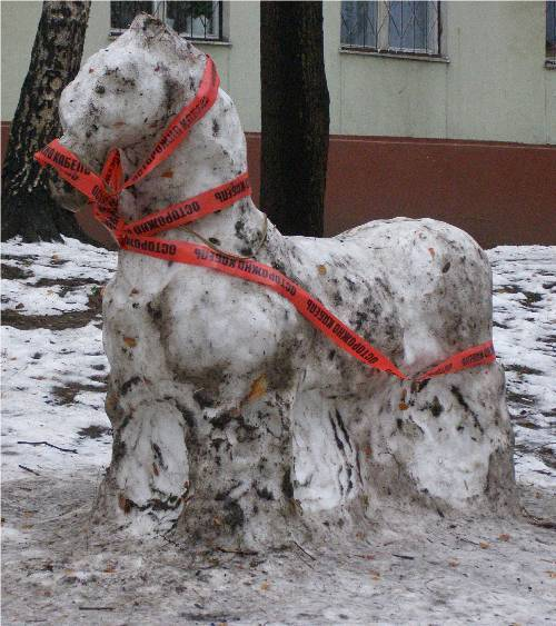 Russian Snow Horse 1