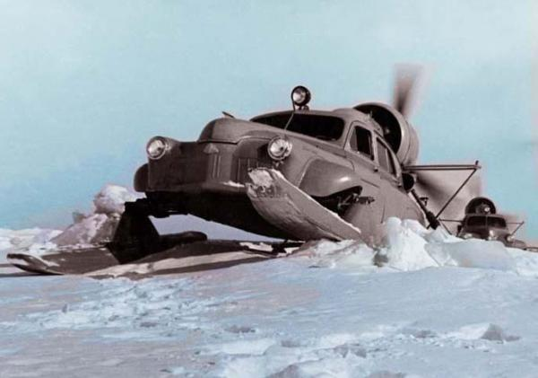 Unusual Soviet Snowmobile Equipment