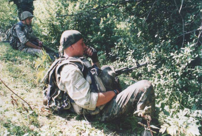 Russian soldiers in Chechnya 11