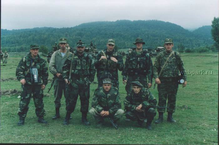 Russian soldiers in Chechnya 14