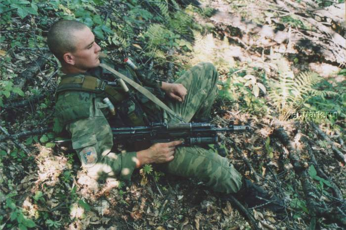 Russian soldiers in Chechnya 17