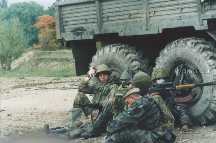 Russian soldiers in Chechnya 18