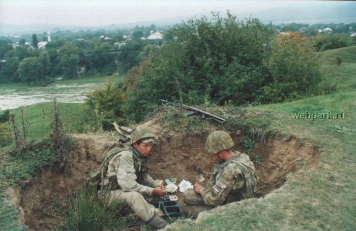 Russian soldiers in Chechnya 19