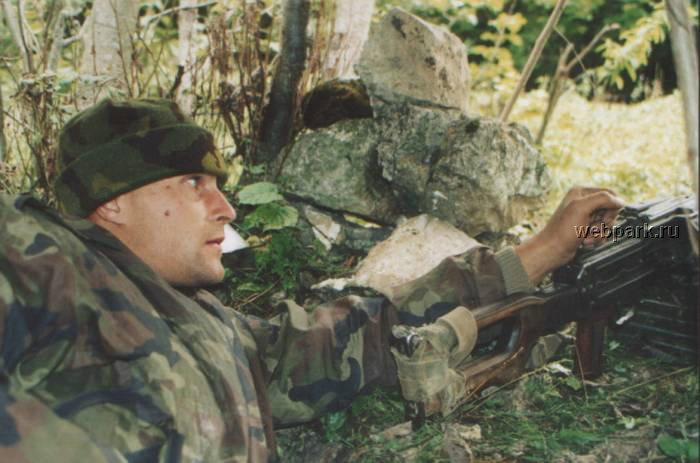 Russian soldiers in Chechnya 21