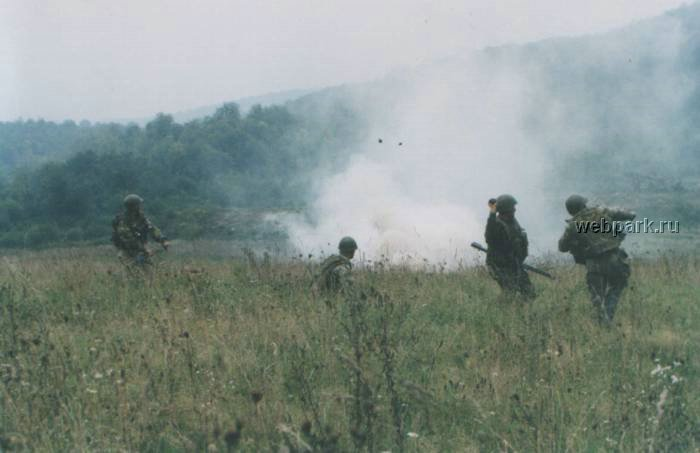 Russian soldiers in Chechnya 22