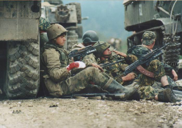 Russian soldiers in Chechnya 25