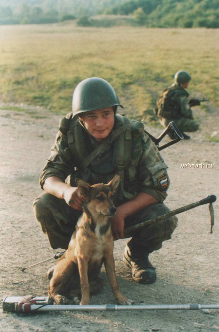 Russian soldiers in Chechnya 26