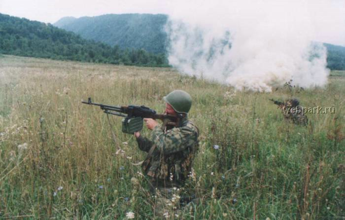 Russian soldiers in Chechnya 28