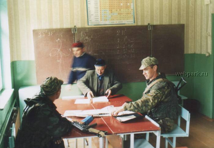 Russian soldiers in Chechnya 29