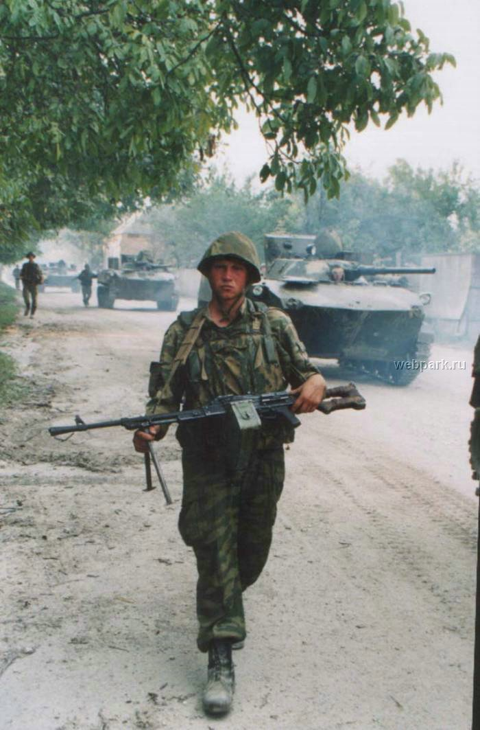 Russian soldiers in Chechnya 33
