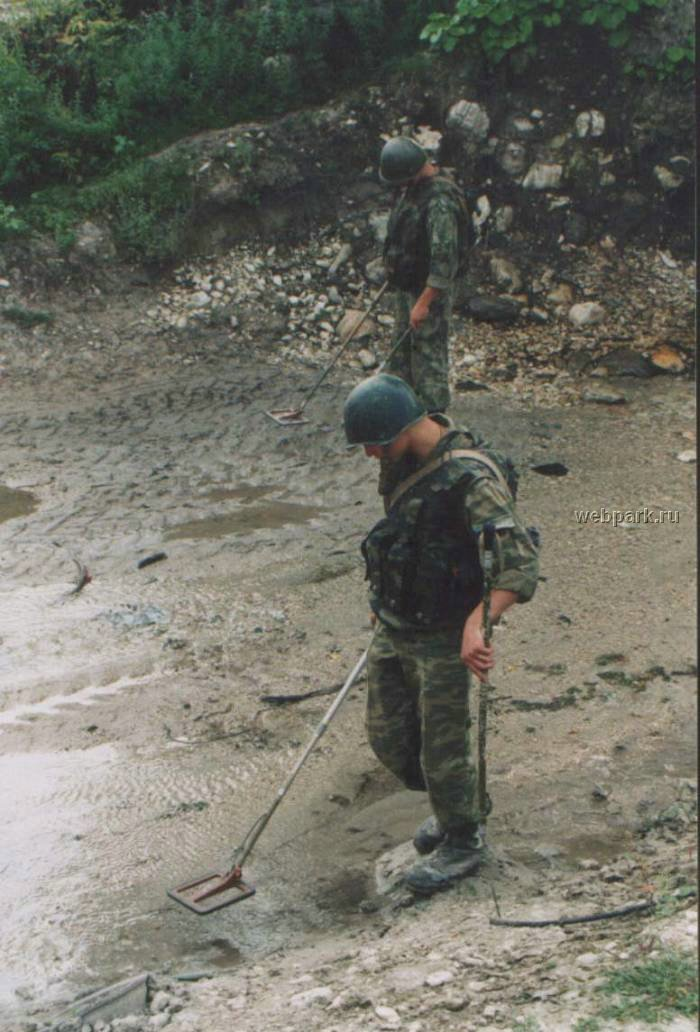 Russian soldiers in Chechnya 35