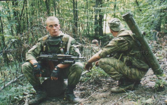 Russian soldiers in Chechnya 36