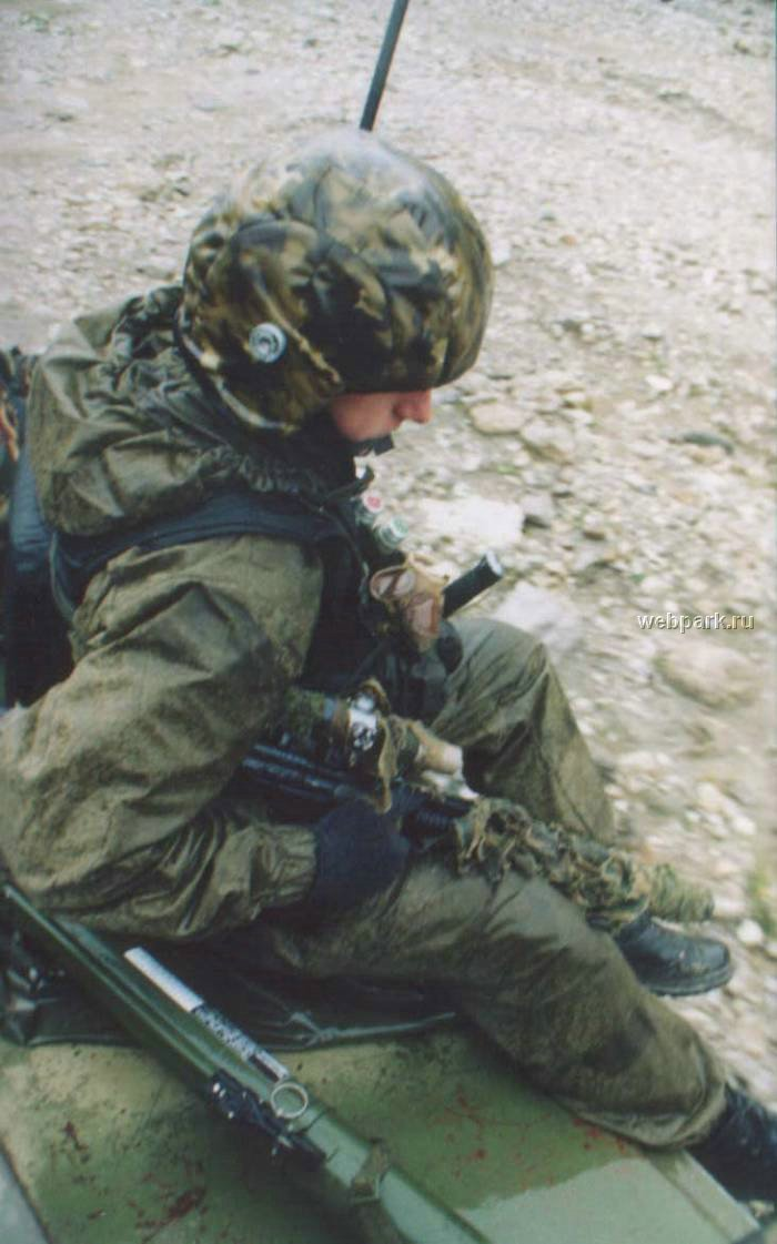 Russian soldiers in Chechnya 37