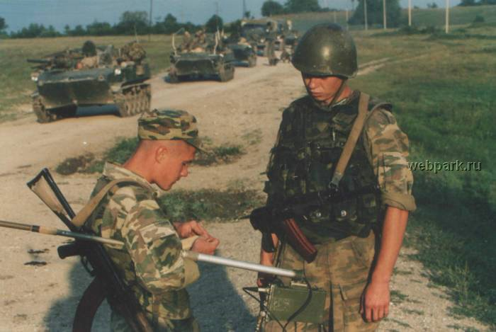 Russian soldiers in Chechnya 38
