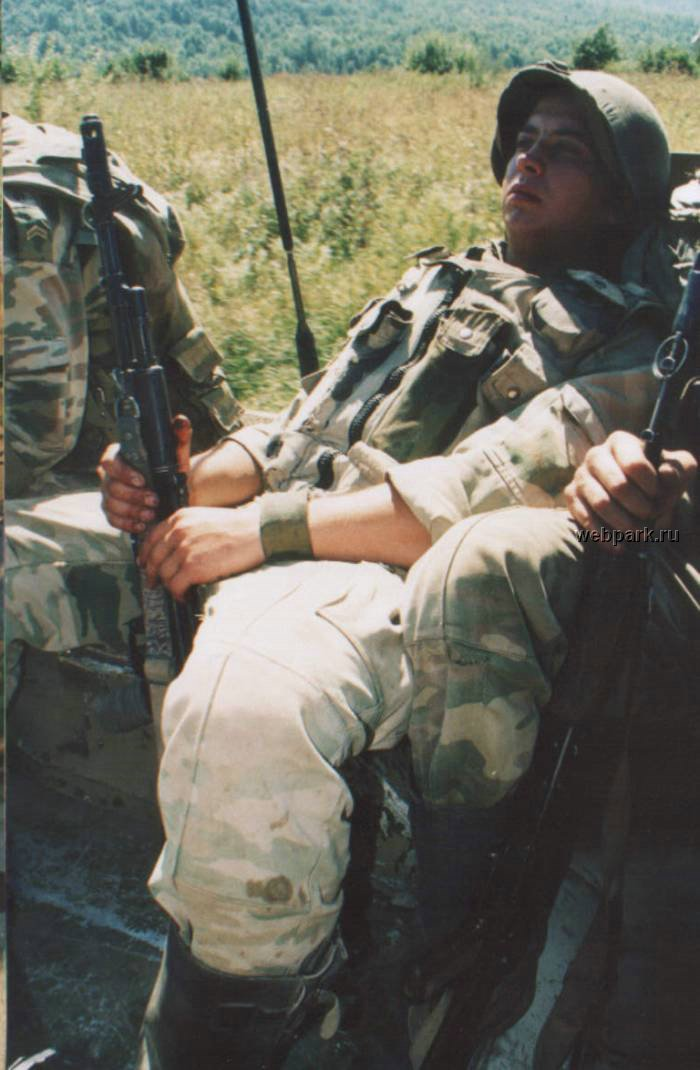 Russian soldiers in Chechnya 39
