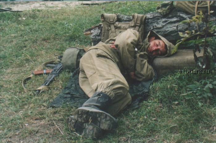 Russian soldiers in Chechnya 40