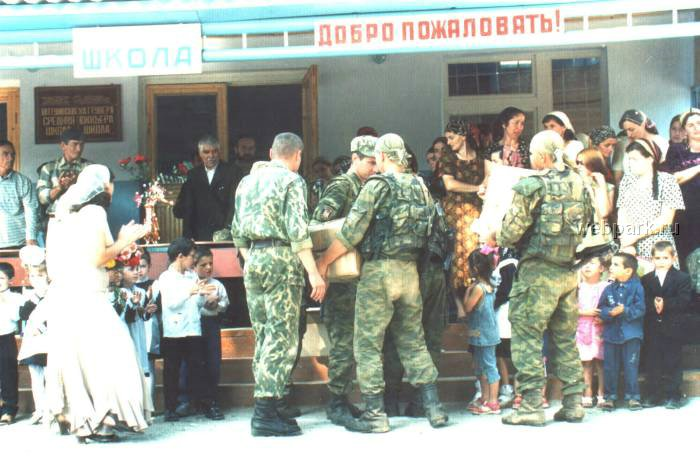 Russian soldiers in Chechnya 41