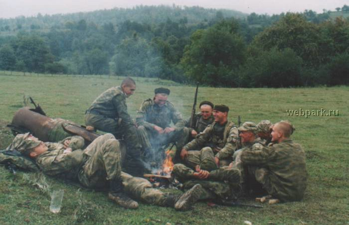 Russian soldiers in Chechnya 43