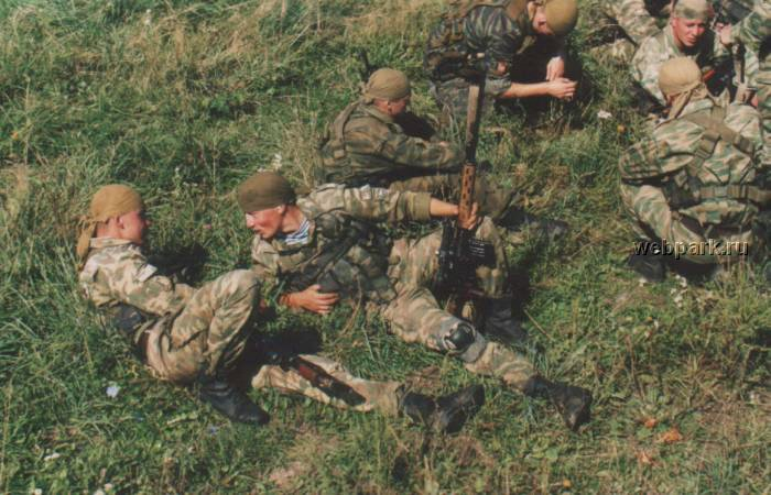 Russian soldiers in Chechnya 44