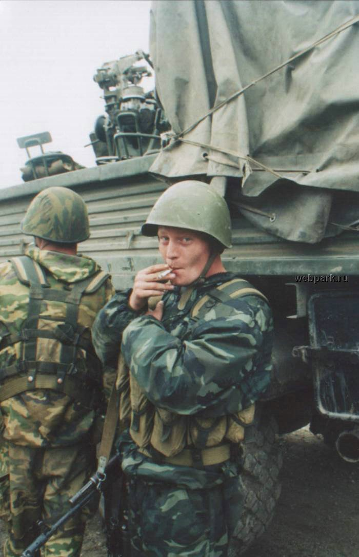 Russian soldiers in Chechnya 45